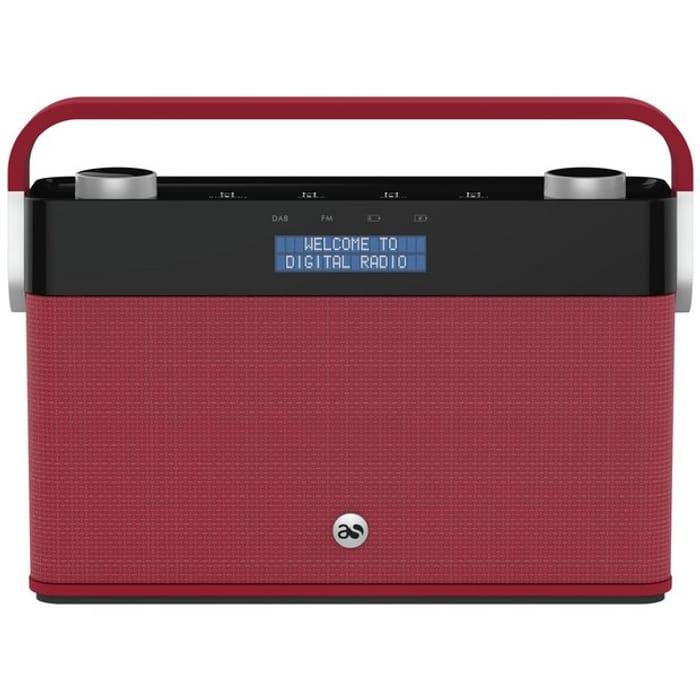 Acoustic Solutions DAB Radio - Red 572/8208 - HALF PRICE
