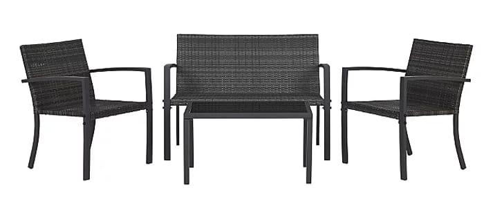 Turbary Rattan 4 Piece Garden Sofa Set Only 70 At Asda