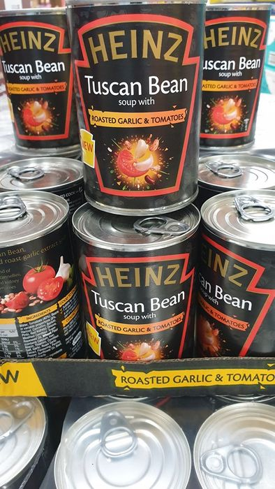 Heinz Tuscan Bean Soup with Roasted Garlic & Tomatoes (400g) Bbe 31/7/18