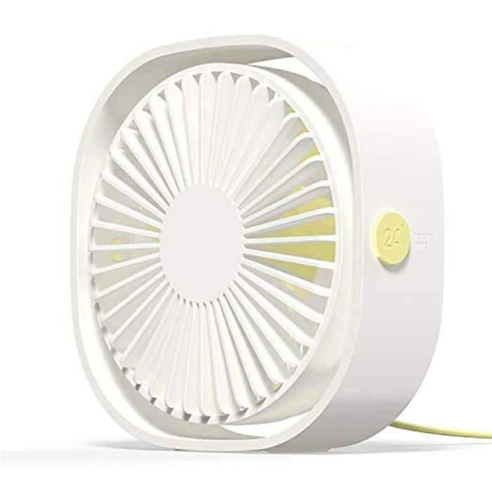 55% off Mini USB Desk Fan Personal Computer Fan Handheld Portable Fan