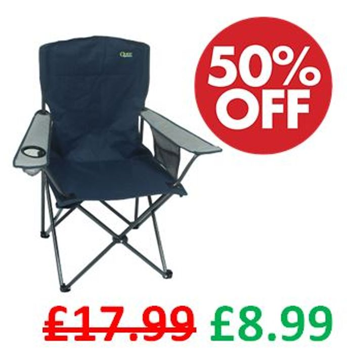 1/2 Price Camping Chair **4.8 STARS**