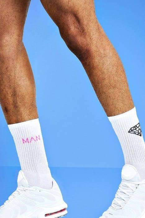 Mist 2 Pack Diamond Socks