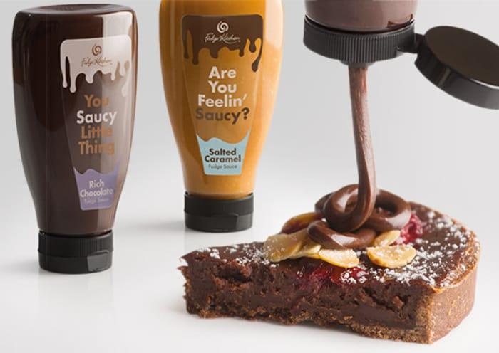 Buy One Get One Half Price on Our Liquid Fudge Sauce