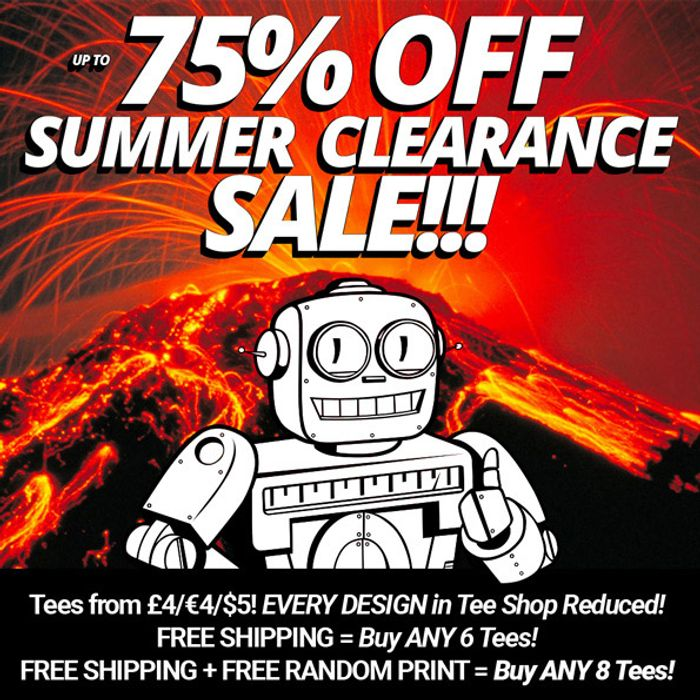 Qwertees T-Shirt Summer Clearance Sale