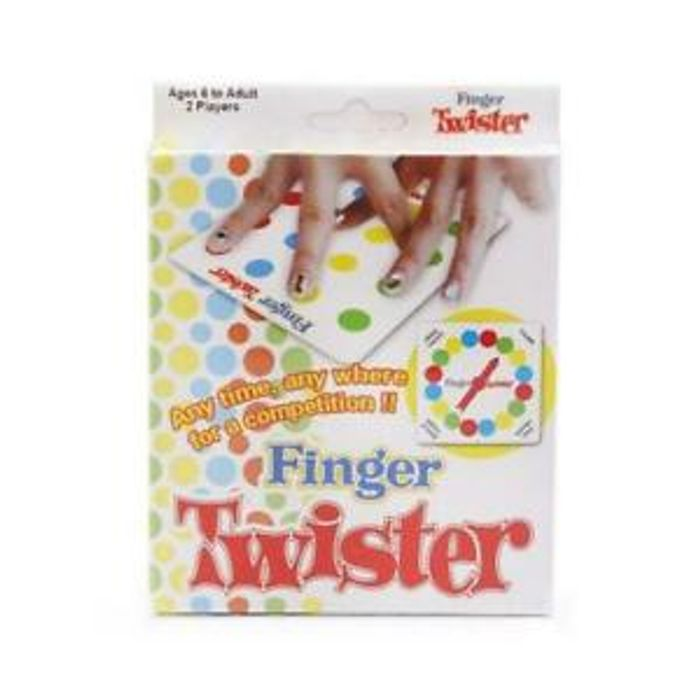 Finger Twister Dance on Fingers Family Toys Board Game Children Game Toy