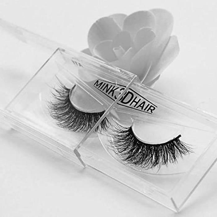3D Fake Eyelashes Natural Thick False Eye Lashes Makeup Extension