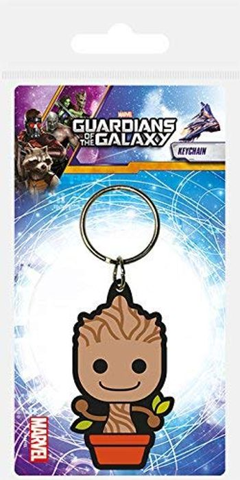 Disney Guardians of the Galaxy-Baby Groot Rubber Keychain FREE DELIVERY