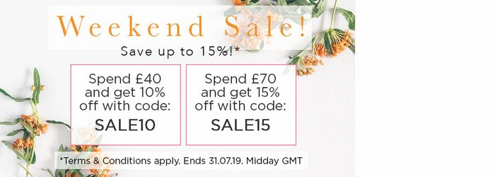Get 15% off When You Spend £70