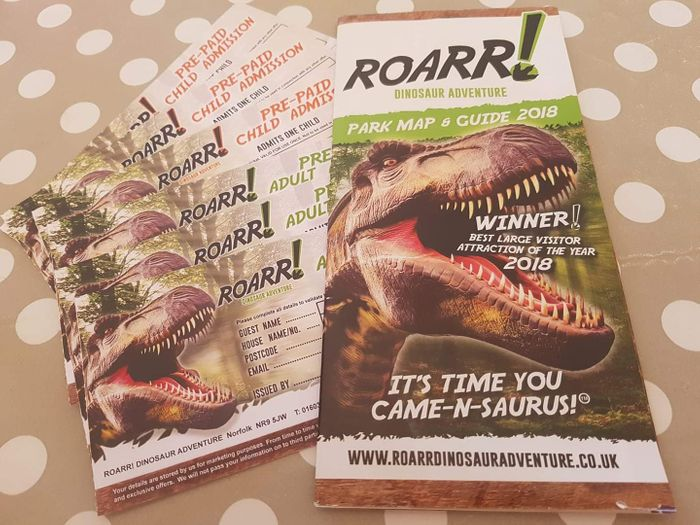 6 Tickets to Dinosaur Adventure Park