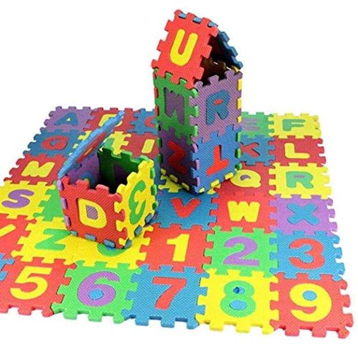 Multicolour Kids EVA Foam Puzzle Floor