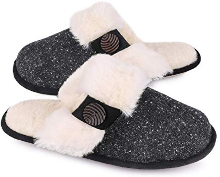 EverFoams Ladies' Comfy Fuzzy Knitted