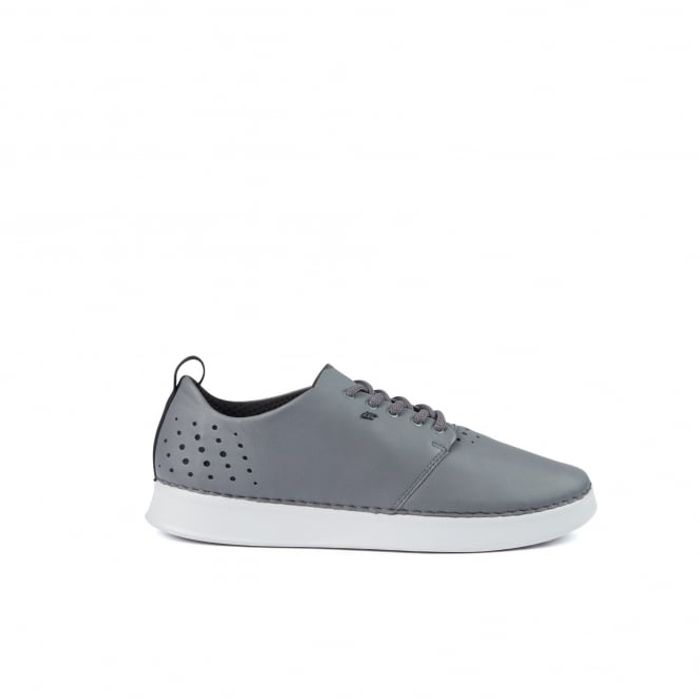 Karaal Grey Leather Shoes - Almost HALF PRICE!