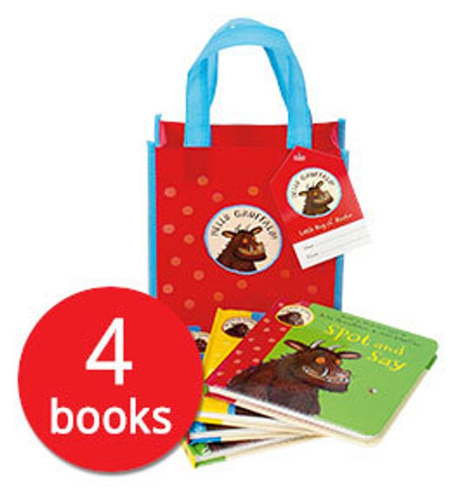 Bargain! Hello Gruffalo! Collection - 4 Books in a Bag at the Book People