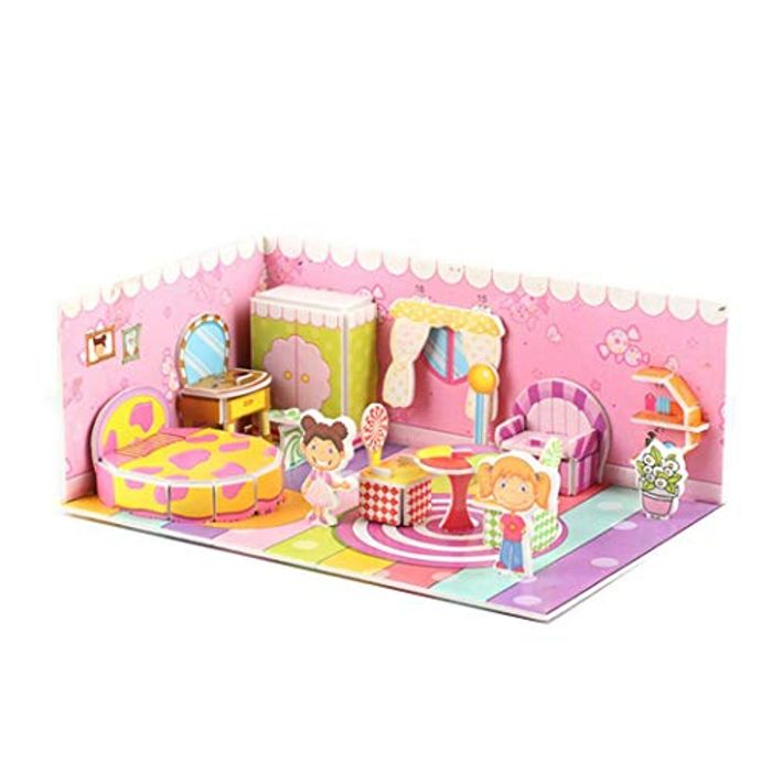 £3.6 3D Paper Board Puzzle 70% +Free Delivery