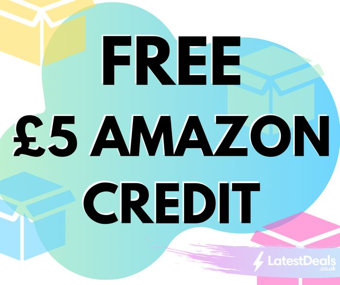 FREE £5 Amazon Credit When You Create a Child Profile (10,000 Available)