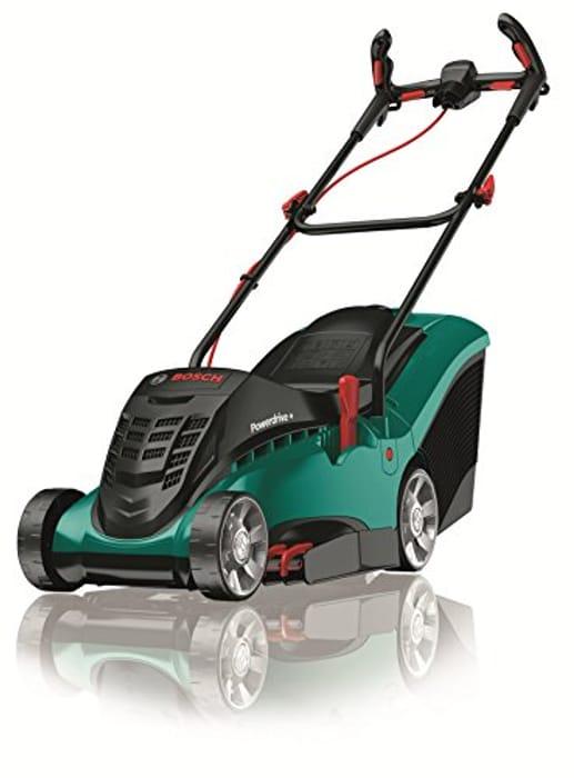 SAVE £40 - Bosch Rotak 37 Ergoflex Electric Rotary Lawn Mower (37cm Cut)