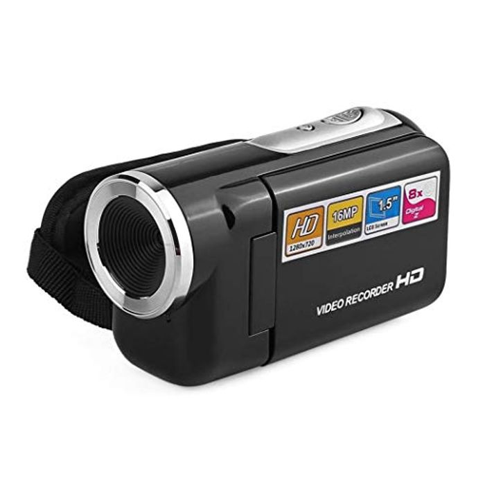 Video Camcorder HD 16.0MP 2.0 Inch LCD 270 Degrees Rotatable Screen
