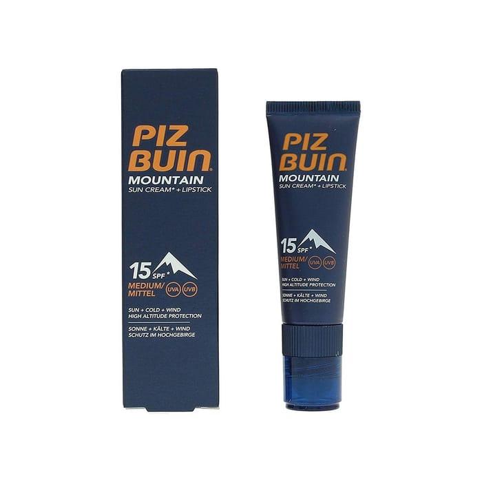 Piz Buin Mountain Suncream and Lipstick