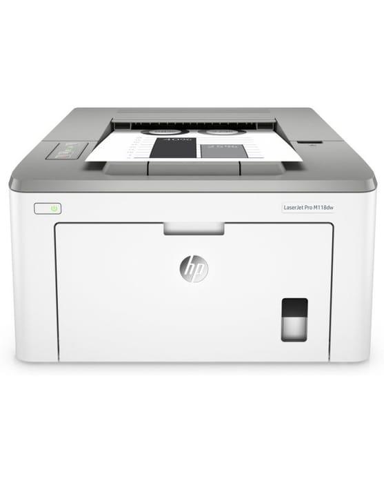 HP LaserJet Pro M118dw A4 Wireless Mono Laser Printer with Duplex Printing