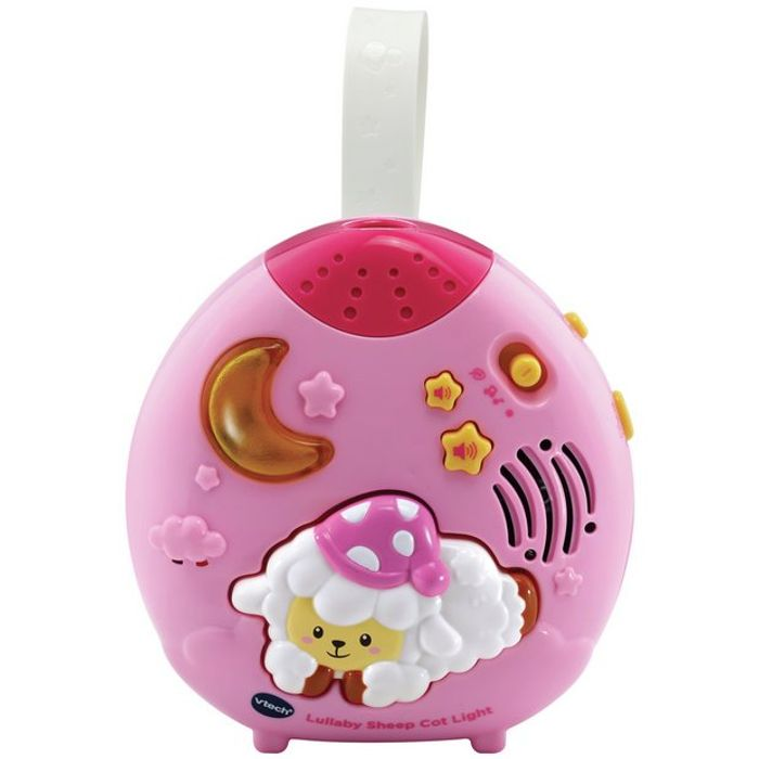 VTech Lullaby Sheep Cot Light - Pink