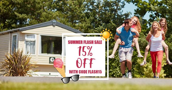 Extra 15% off in the Summer Flash Sale