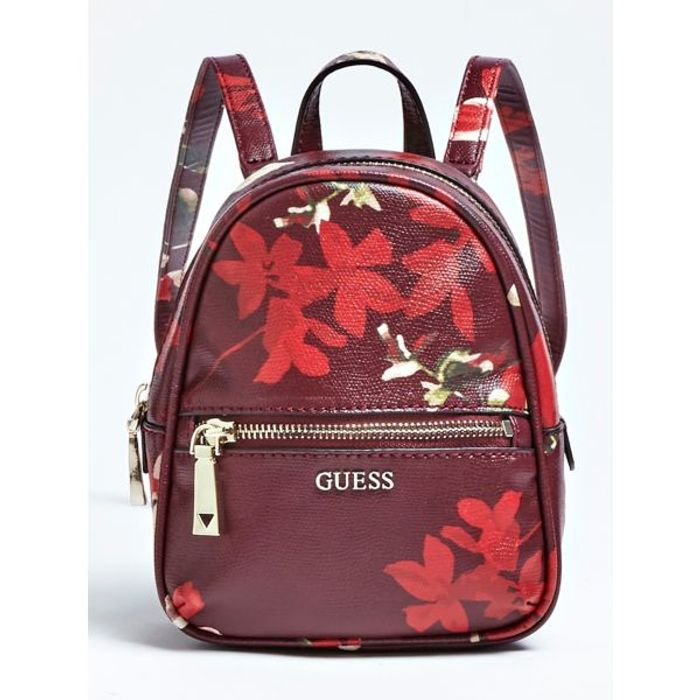 Urban Chic Floral Print Backpack