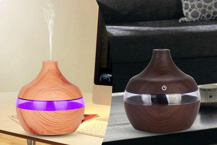 Aroma Essential Oil Electric Humidifier - 2 Colours!