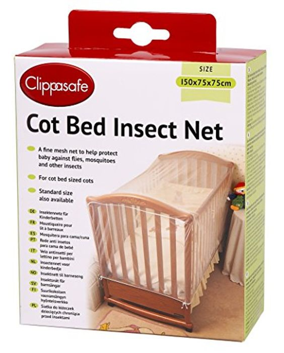 Clippasafe Cot Bed Insect Net - Save £5