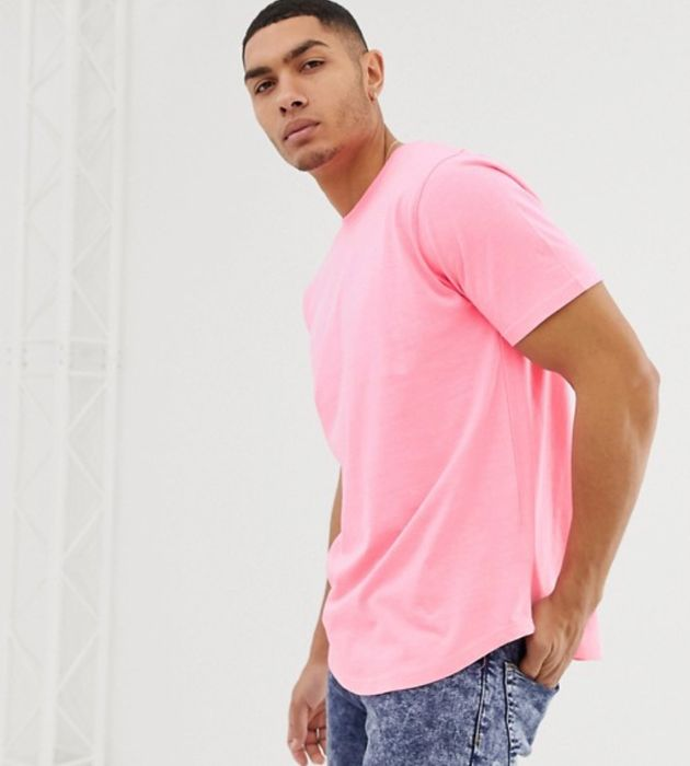 Soul Star T-Shirt in Neon Pink