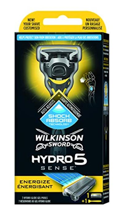 Best Price! Wilkinson Sword Hydro Sense Energize Men's Razor