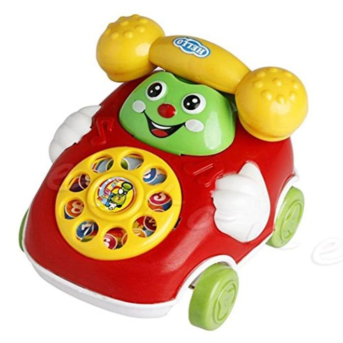 Baby Toys Cartoon Car Phone 12-36 Month