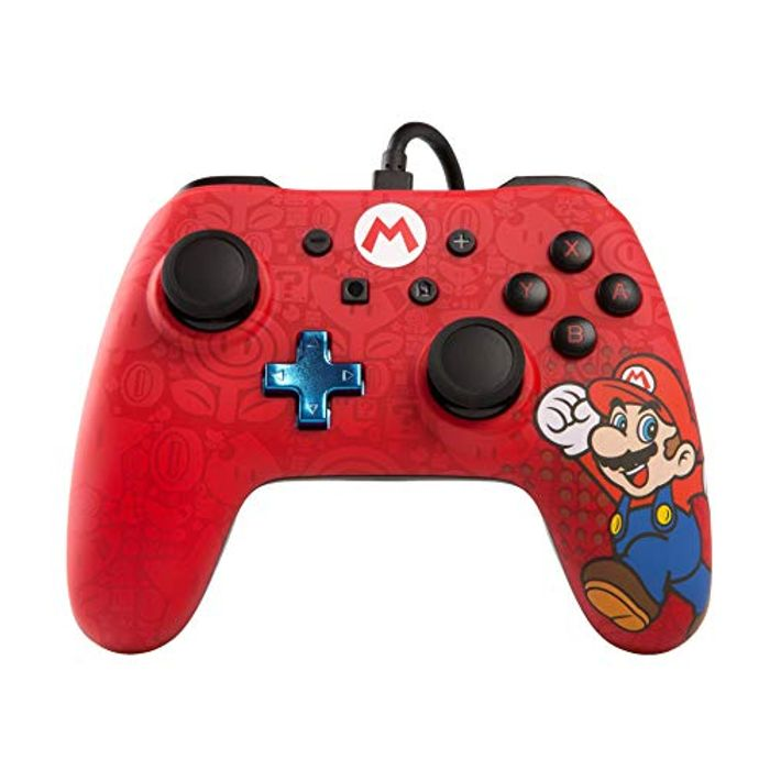 Best Price! Wired Controller for Nintendo Switch - Mario