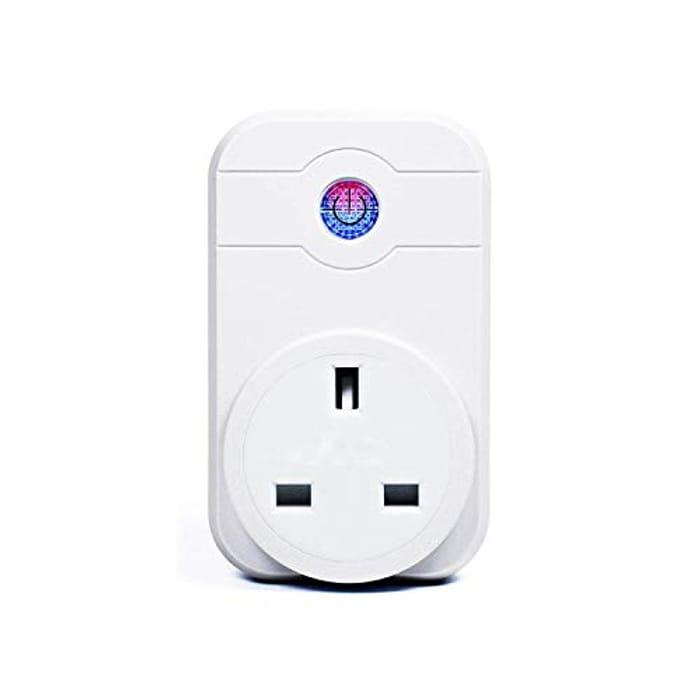 Smart Plug WiFi Mini Socket Compatible with Alexa Google Home, No Hub Required