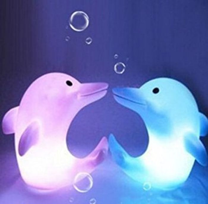 Dolphin LED Night Light
