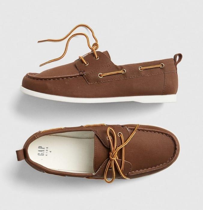 Gap Faux-Leather Boatshoes