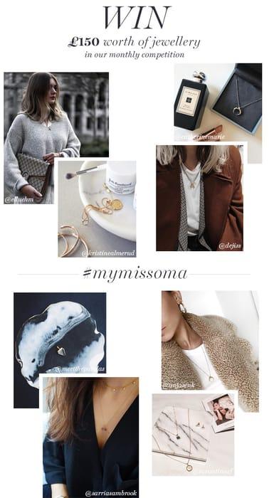 Missoma - £150 of Missoma Jewellery