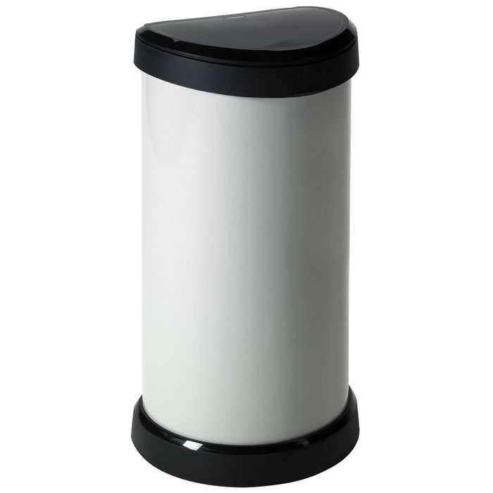 Curver Deco 40L Touch Bin - Off-White £13.49 with Code