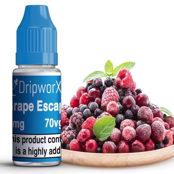 Dripworx 10ml Grape Escape Eliquid