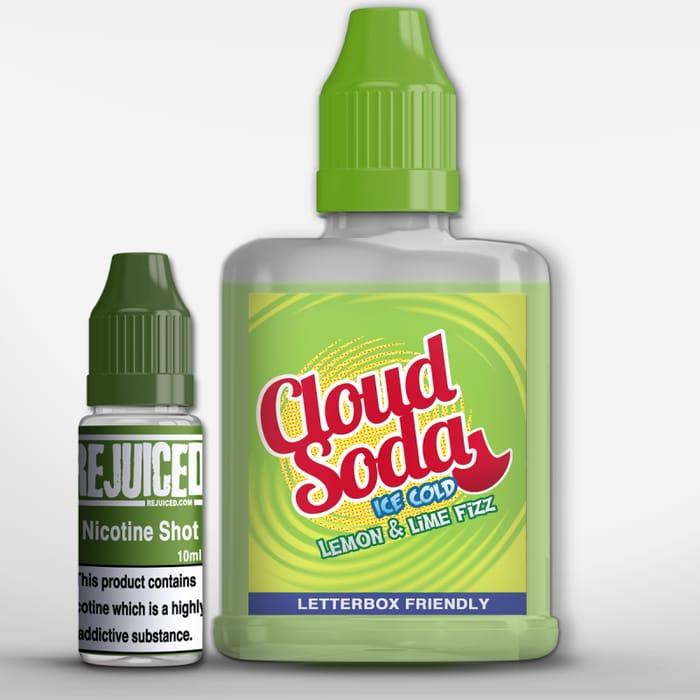Fizzy Lemon & Lime 60ml Cloud Soda Eliquid