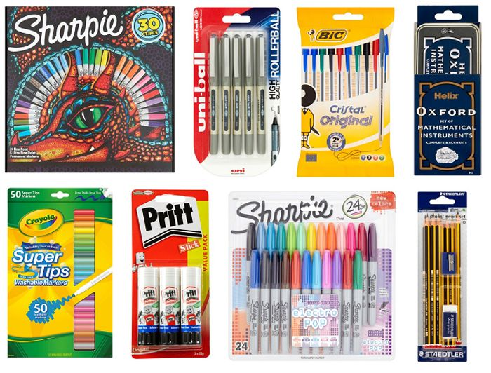 Half Price or Better Back to School Stationery at Tesco