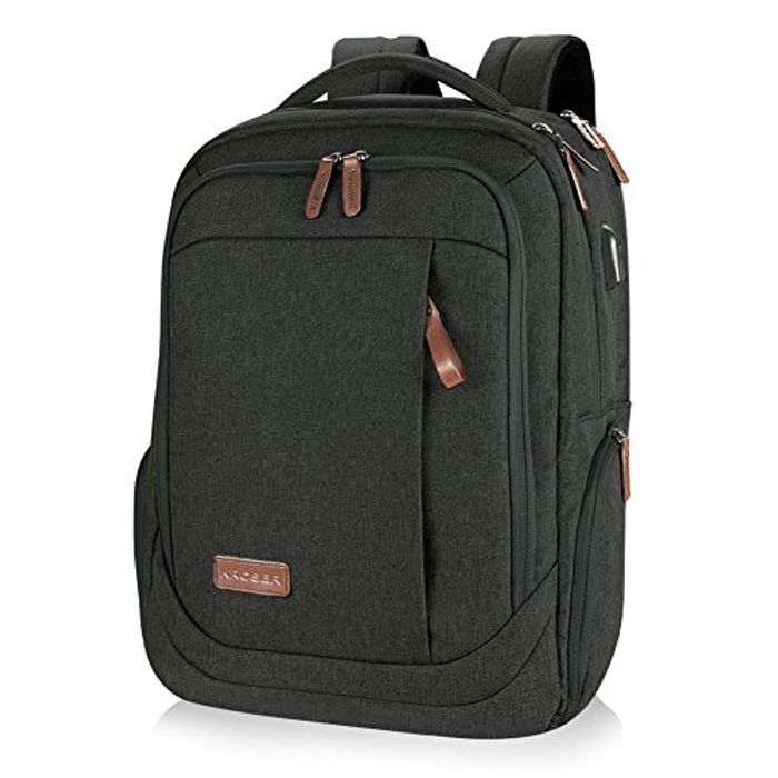 KROSER Large Travel Computer Backpack for 15.6-17.3 Inch Laptop Only £18.89