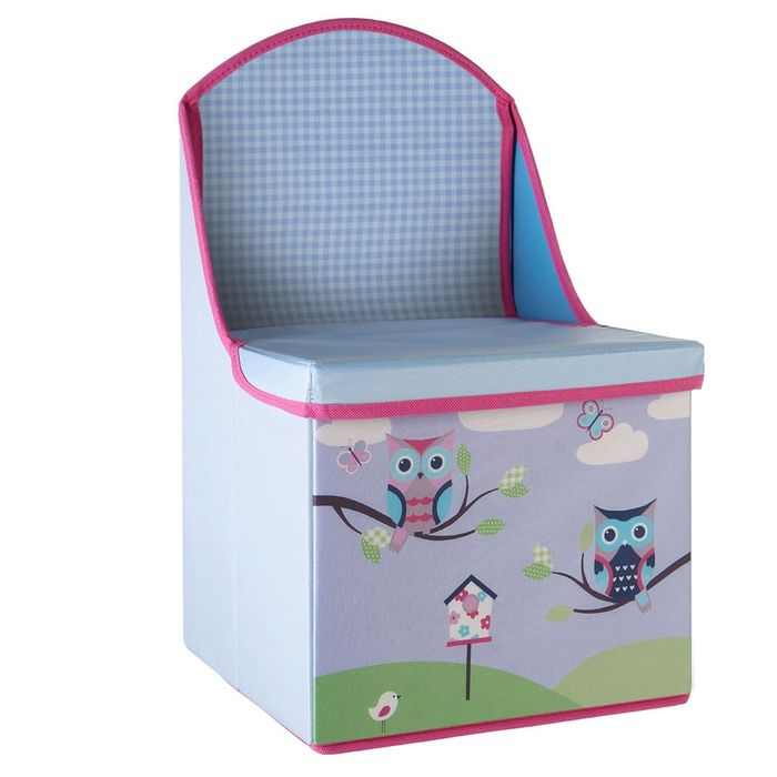 £10 off Kids Owl Design Seat/ Storage Box