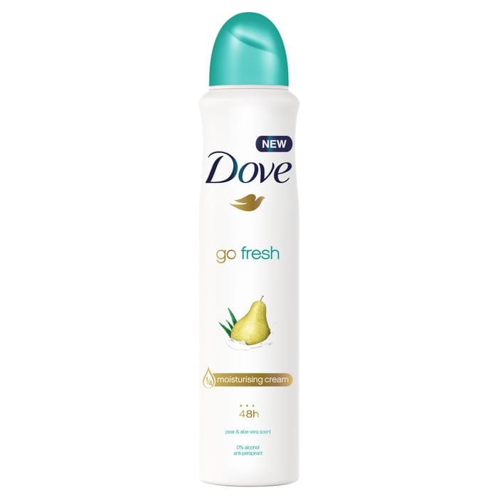 Dove Go Fresh Pear & Aloe Vera Antiperspirant Deodorant 250Ml