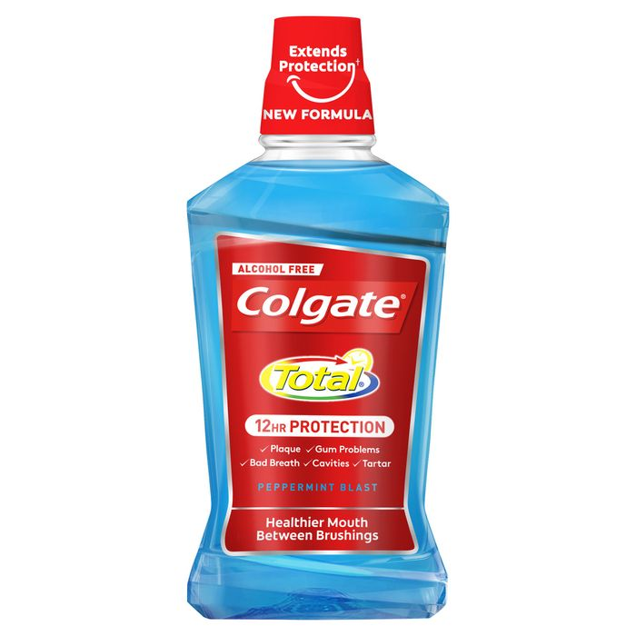 Colgate Total Advanced Mouthrinse Peppermint 500Ml