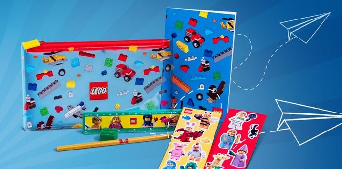 Free Back to School Pack with Orders over £55 at LEGO