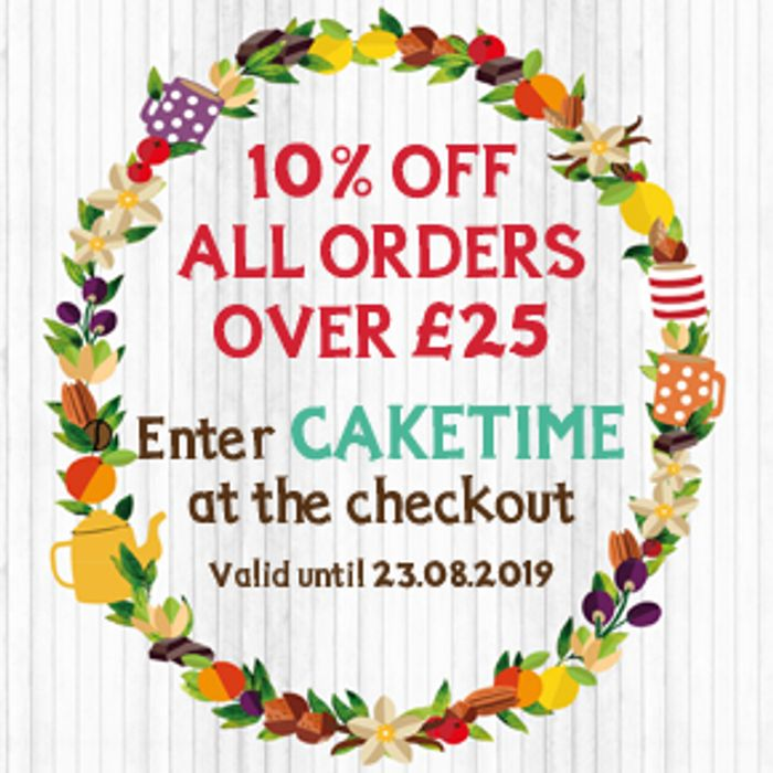 10% off All Orders over £25
