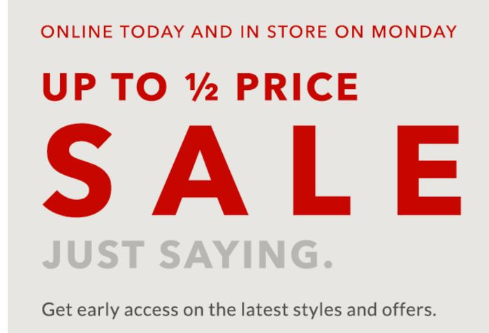 Asda George Up To 50% Off Sale Online & In Store