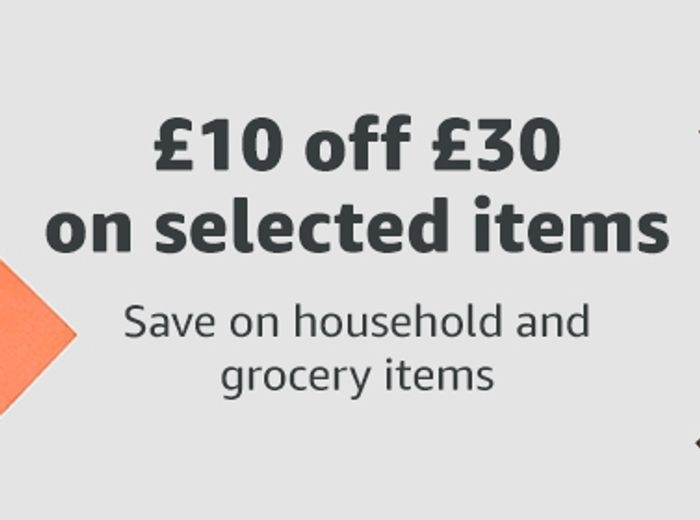 £10 Free Credit from Amazon Pantry