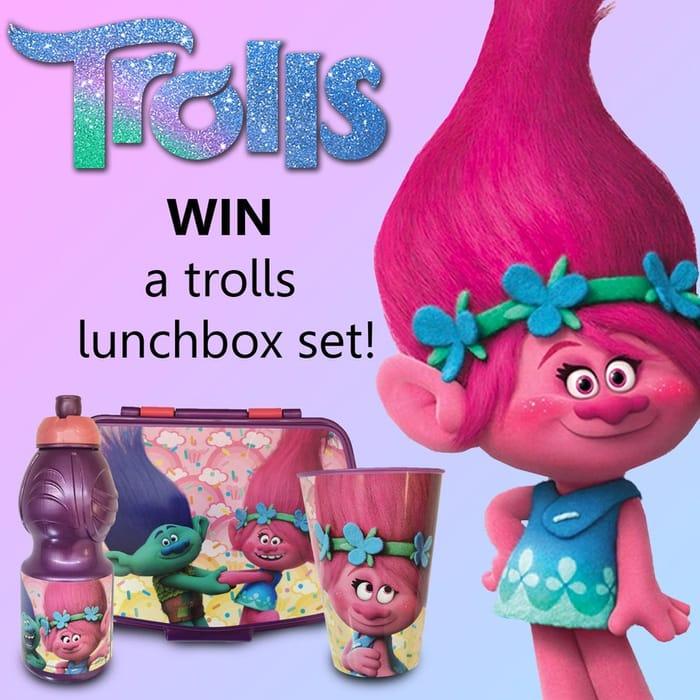 Win a Trolls Lunch Box Set