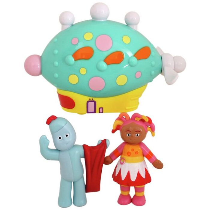 In the Night Garden Pinky Ponk & Character Set625/7606